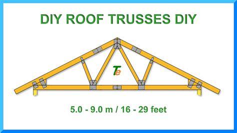 diy roof truss design roof design