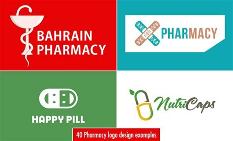 40 Creative And Beautiful Pharmacy Logo Designs For Your