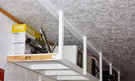 overhead garage storage systems diy storage solutions for a well organized garage