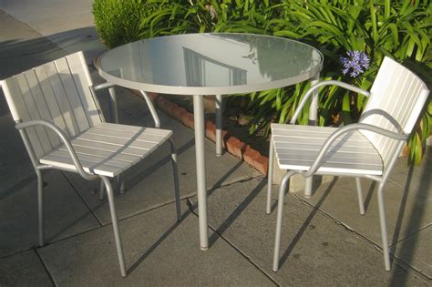 patio table and 2 chairs uhuru furniture collectibles sold patio table and two