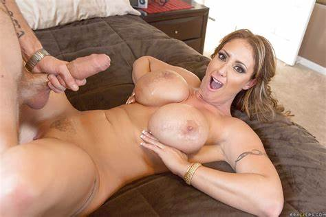 Mommy Gets Control Of Large Penis cougar with over