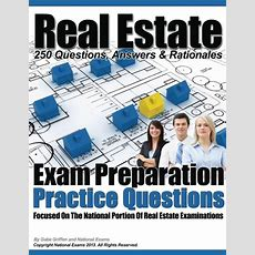 Real Estate Exam Preparation Practice Questions By Gabe Griffen, National Exams , Paperback