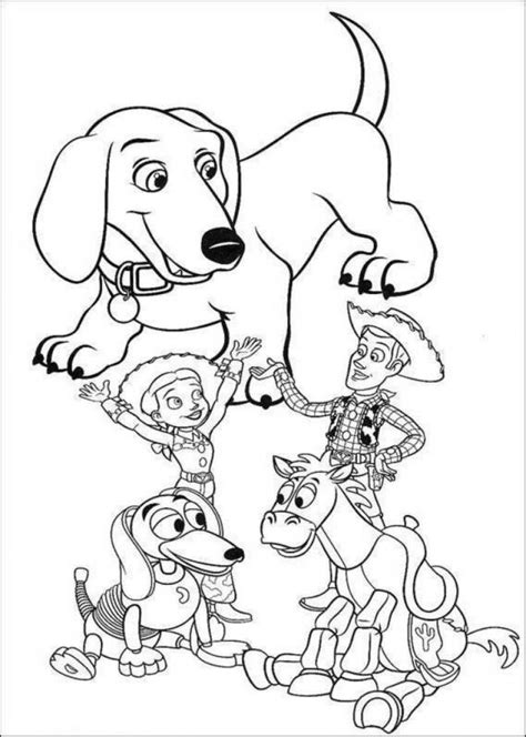 toy story coloring pages coloringpages