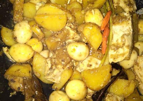 20 butir telur puyuh, rebus, kupas. Resep Semur kentang, tahu dan telur puyuh oleh Arum ...