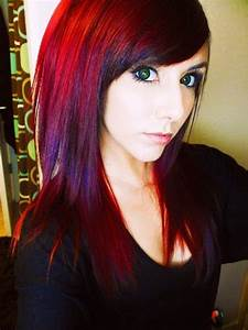 Red Violet Hair Color ! OMG - Inspiring Ideas | Hairstyles ...