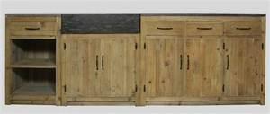 Cuisine En Bois Brut : cuisine o trouver des meubles ind pendants en bois brut le blog d co de mlc ~ Teatrodelosmanantiales.com Idées de Décoration