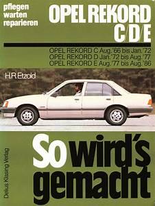 Opel Rekord 2 2 E Wiring Diagram