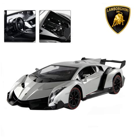 114 4ch Lamborghini Veneno Rc Car Radio Remote Control W