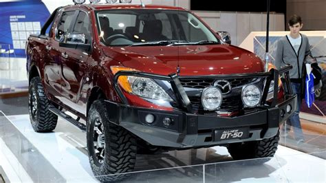 mazda  isuzu  collaborate    pickup truck