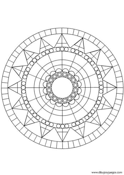 dibujos-mandalas-simples-037 | Dibujos y juegos, para