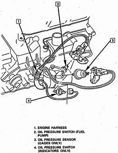 Where Is The Oil Pressure Switch Locatedfor A 88 Chevy S10