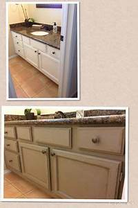 1000 images about bathroom makeover on pinterest coco With what kind of paint to use on kitchen cabinets for candle wax holder