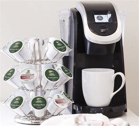 It brews up to 12 cups of coffee at a go and produces the. Keurig K250 Single Serve, Programmable K-Cup Pod Coffee ...