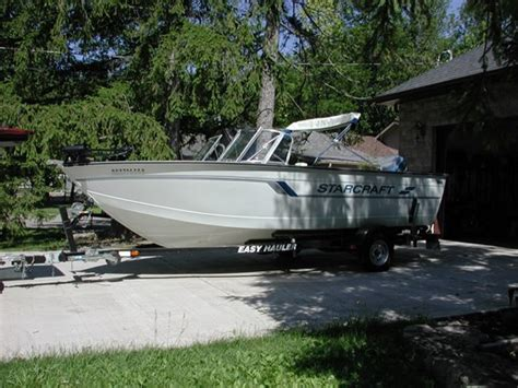 Starcraft Boats Ontario by Starcraft Fishmaster 190 1996 Used Boat For Sale In