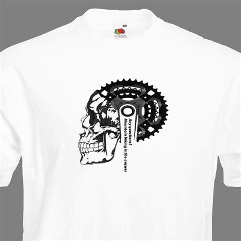 Men's Mountain Bike T Shirt Men's Bicycle T Shirt