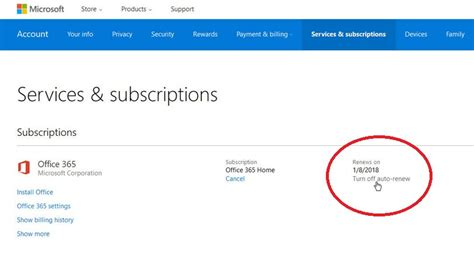 Office 365 Renewal by How To Cancel Your Microsoft Office 365 Subscription