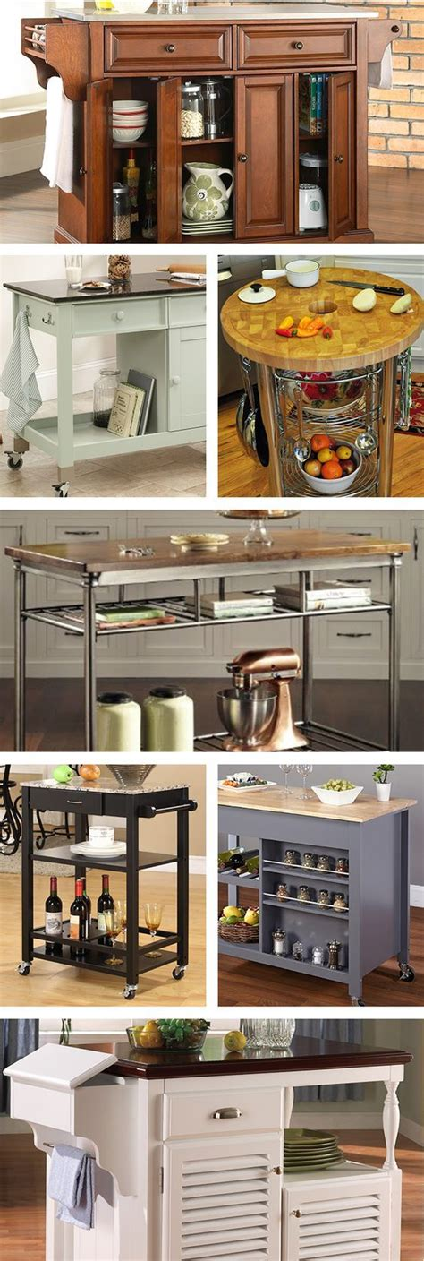 rolling islands for kitchens best 10 rolling kitchen cart ideas on kitchen