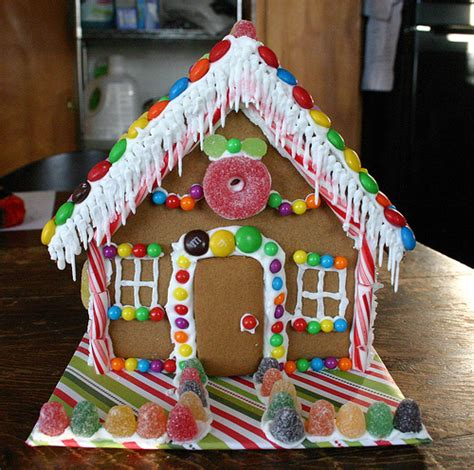 Inspiring Gingerbread House Plans Photo by Gingerbread House Front Flickr Photo