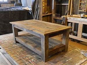 best 25 barn wood tables ideas on pinterest barnwood With coffee tables made from old barn wood