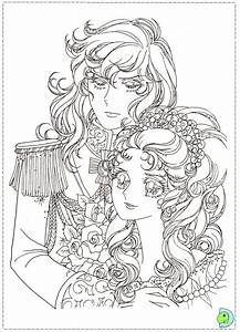Lady Oscar Coloriages Lady Oscar Pinterest Coloring