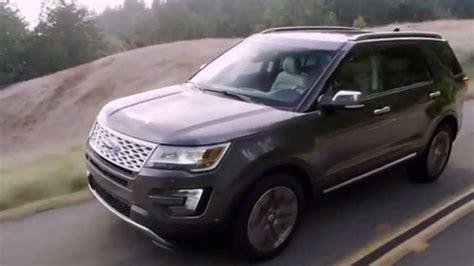 2016 Ford Explorer Platinum Interior, Exterior And Driving
