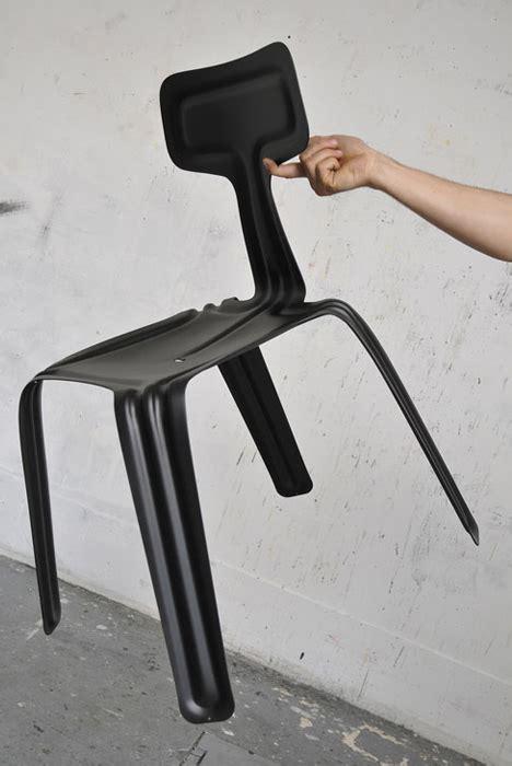light and strong metal ultralight flex chair flat pack aluminum strong like steel