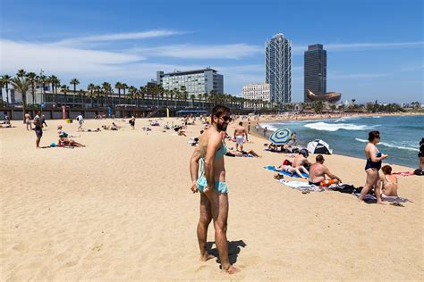 Dressing Up as a Woman in Barcelona, Spain