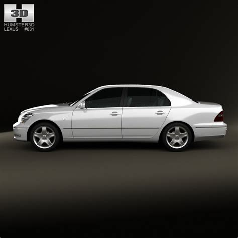 lexus models 2003 lexus ls xf30 2003 3d model max obj 3ds fbx c4d lwo