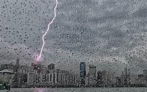Clean-up starts after severe rainstorm hits Hong Kong ...