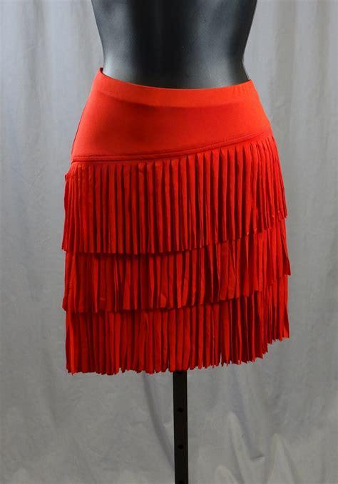cloth fringe latin skirt  built   pants