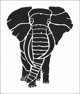 This Large Elephant Stencil Buy From The Warehouse 2 ...