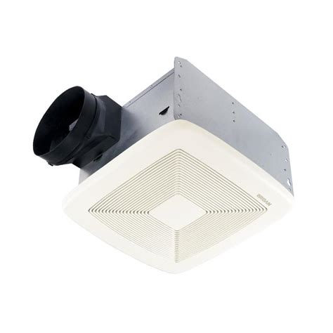 lowes broan bathroom fan shop broan 0 8 sone 80 cfm white bathroom fan energy star