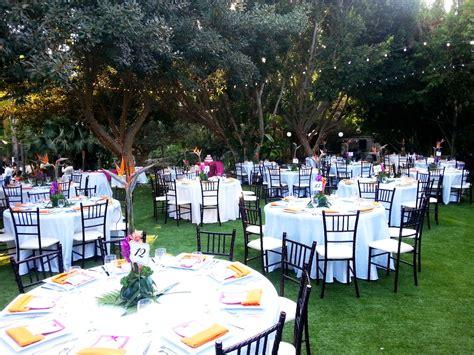 Garden Receptions Paradise Falls Weddings