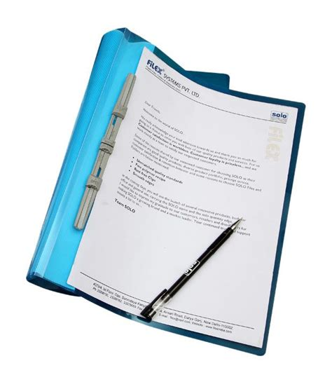Solo Report File A4 (pack of 10): Buy Online at Best Price ...