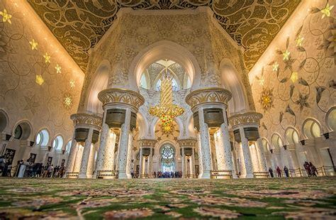 moschea dello sceicco zayed abu dhabi la sala