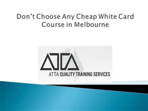 Cheap White Card Course In Melbourne |authorstream Unknown Arguments Card Business Network Name Runtime Install Credit First Last Phone Number Format In My Wall Mounted Holder Nz Printing Online Ireland Visiting Resize
