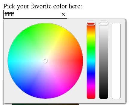 fashion jquery color picker selector plugin wheel color picker  jquery plugins
