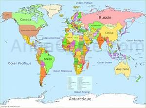 Carte Du Monde Metallique : br sil carte du monde arts et voyages ~ Teatrodelosmanantiales.com Idées de Décoration