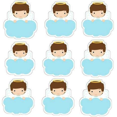 angelitos etiquetas toppers o stickers para primera comuni 243 n para imprimir gratis oh my