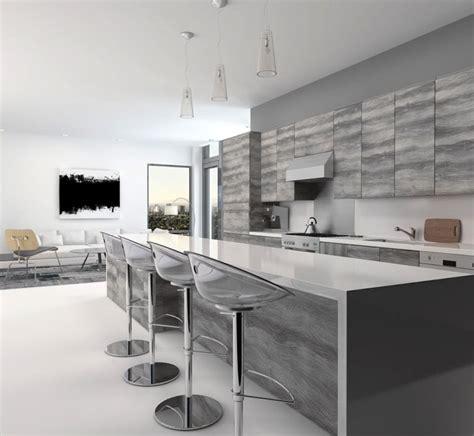 cuisine grise plan de travail blanc cuisine grise la cuisine tendance en 40 modèles gris clair gt anthracite