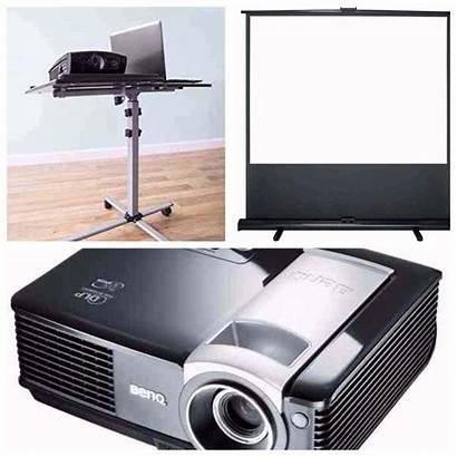 Projector Screen Combo Stand Projectors Hire Deal