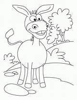 Donkey Coloring Printable Cartoon Donkeys Ass Colouring Animal Lovely Template Funny Caterpillar Sheets Bestcoloringpagesforkids Library Clipart Diddy Kong Frog Popular sketch template
