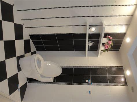 mosaic tile   vertical border   toilet