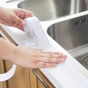 Self Adhesive Bathroom Kitchen Wall Sealing Strip Basin
