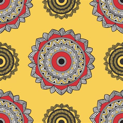 indian pattern ethnic wallpaper art