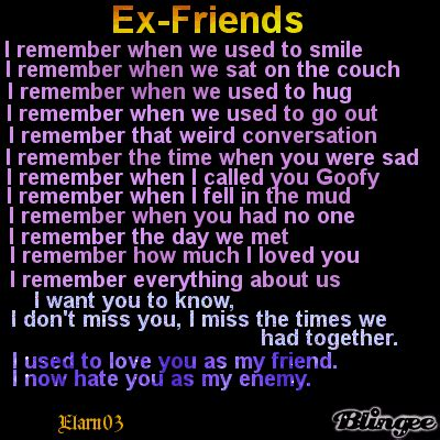 Friends Poem Elarn Picture Blingee