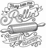 Embroidery Coloring Designs Rollin Urban Pages Threads Patterns Paper Unique Hand Spice Urbanthreads Baking Awesome Stitching Adult Stitch Colouring Sheets sketch template