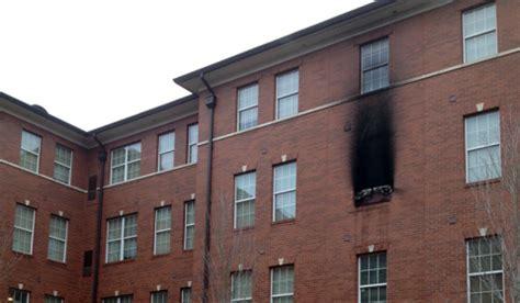 fire burns baker hall data room university louisiana lafayette