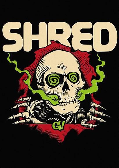 Shred Gnarly Behance Bonehead