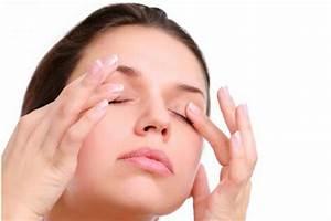 Китайский массаж от морщин вокруг глаз